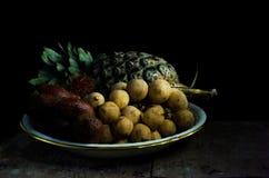 Het fruit van het stilleven Stock Afbeelding