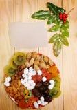 Het fruit van Kerstmis Royalty-vrije Stock Afbeeldingen