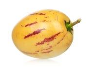 Het fruit van Pepino Royalty-vrije Stock Afbeeldingen