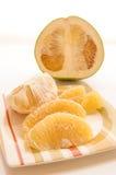Het fruit van Pummelo. Stock Foto's