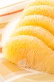 Het fruit van Pummelo. Stock Afbeeldingen