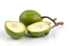 Het fruit van Spondiasdulcis. Stock Foto