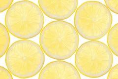 Het fruitachtergrond van de citroen Stock Afbeelding