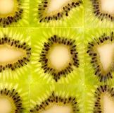Het fruitachtergrond van de kiwi royalty-vrije stock foto's