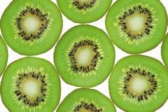 Het fruitachtergrond van de kiwi Stock Foto's