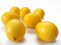 Het fruitbeelden van hoogste kwaliteits ontwerpen de verse die citroenen voor uw douane worden gekozen en adverterend Stock Fotografie
