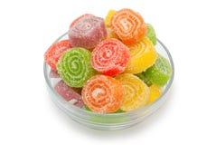 Het fruitgelei van de kleur Stock Foto