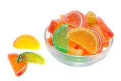 Het fruitgelei van de kleur Stock Afbeelding