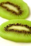 Het fruitplak van de kiwi Stock Afbeelding