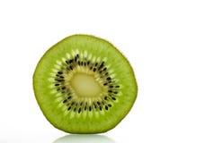 Het fruitplak van de kiwi stock foto's
