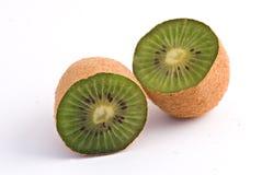Het fruitsecties van de kiwi Royalty-vrije Stock Fotografie
