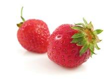 Het fruitvoedsel van de aardbei stock afbeelding