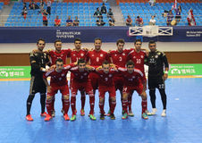 Het futsal team van Libanon Royalty-vrije Stock Afbeeldingen
