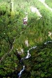 Lift in Chamonix-bergen royalty-vrije stock fotografie
