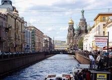 Het gaan naar heilige-Petersburg royalty-vrije stock foto