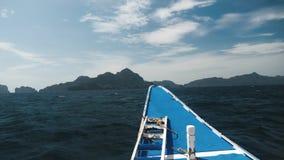 Het gaan op de rondvaart in Filippijnen