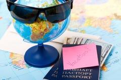 Het gaan op vakanties Royalty-vrije Stock Foto