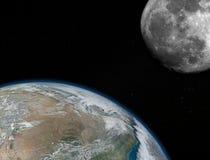 Het gaan Terug naar de Maan royalty-vrije stock fotografie