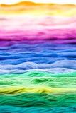 Het garen van de kleur Royalty-vrije Stock Afbeeldingen