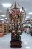 Het garudabeeldhouwwerk voor het winkelen opslag Royalty-vrije Stock Foto