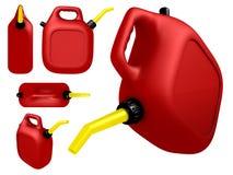 Het gas kan stock illustratie