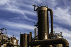 Het gas van Seattle werkt park Royalty-vrije Stock Afbeeldingen