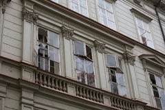 Het gasexplosie van Praag in 29 April 2013 Royalty-vrije Stock Foto