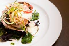 Het gastronomische Diner van de Kip royalty-vrije stock afbeelding