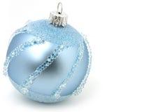 Het geïsoleerdee lichtblauwe gebied van Kerstmis Stock Afbeeldingen