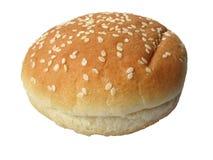 Het geïsoleerden broodje van de sesam - Royalty-vrije Stock Foto