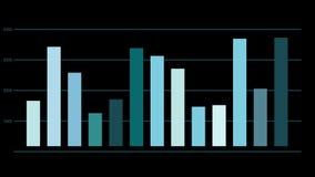 Het geanimeerde rapport van analysegegevens vector illustratie