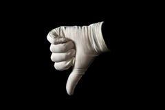 Het gebaar van de hand Stock Afbeelding