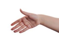 Het gebaar van de hand Royalty-vrije Stock Afbeeldingen