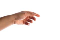 Het gebaar van de hand Stock Afbeeldingen
