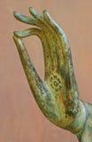 Het Gebaar van de Hand van Boedha Royalty-vrije Stock Afbeeldingen