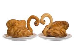 Het gebakje Royalty-vrije Stock Foto's
