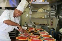 Het gebakje van de chef-kok Stock Fotografie