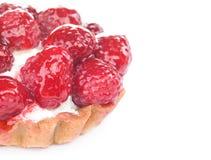 Het gebakje van de framboos Stock Foto