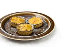 Het gebakje van de mango Stock Fotografie