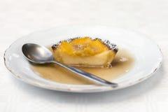 Het gebakje van de mango Stock Afbeeldingen