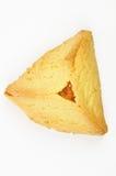 Het gebakje van Hamantashen met abrikoos Stock Afbeelding