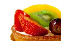 Het Gebakje van het verse Fruit #2 Royalty-vrije Stock Foto's