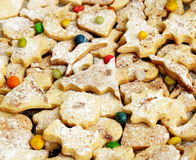 Het gebakje van Kerstmis Stock Foto