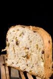 Het gebakje van Panettone Royalty-vrije Stock Afbeelding