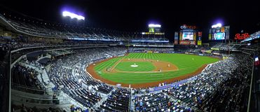 Het Gebied New York van Citi - Honkbal Royalty-vrije Stock Afbeeldingen