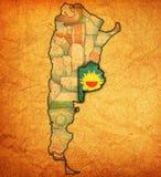 Het gebied van Buenos aires grondgebied Royalty-vrije Stock Afbeelding
