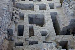 Het gebied van de archeologie in Peru Stock Afbeeldingen