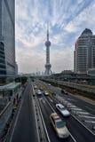 Het gebied van de binnenstad van Shanghai Stock Fotografie