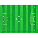 Het gebied van de de besnoeiingsvoetbal van het rijstpapier Royalty-vrije Stock Afbeelding