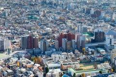 Het gebied van de de stadswoonplaats van Tokyo Stock Foto's